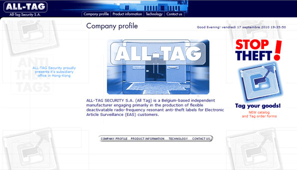 All Tag security